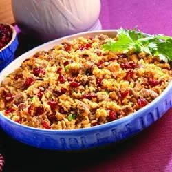Photo of Sausage and Wild Rice Stuffing by Bob Evans®