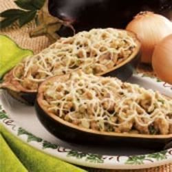 Photo of Eggplant with Mushroom Stuffing by Joyce  Towles