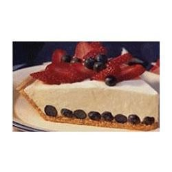 Red, White & Blueberry Cream Pie Recipe