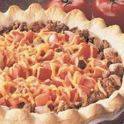 Photo of Beef and Tomato Pie by Taste of Home's Fast Family Favorites