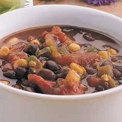 Photo of Texas Black Bean Soup by Taste of Home's Fast Family Favorites