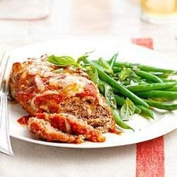 Mini Meat Loaves with Green Beans Recipe