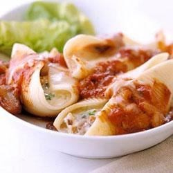 Cheese and Nut Stuffed Shells Recipe