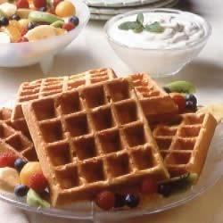 Photo of Sour Cream Waffles by California Milk Advisory Board