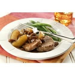 Apple-Pecan Tenderloin Medallions Recipe