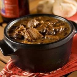 Sweet and Spicy Slow Cooker Beans and Ribs Recipe