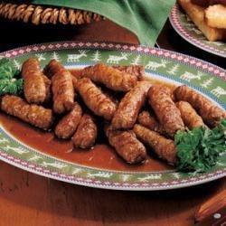 Photo of Maple-Glazed Sausages by Trudie  Hagen