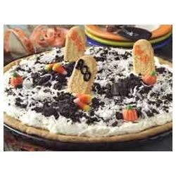 Photo of Spooky Graveyard Dessert Pizza by BAKER'S Chocolate