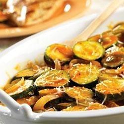 Tomato-Basil Zucchini Recipe