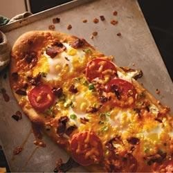 Photo of Rise and Shine Pizza by Kraft Natural Shredded Cheese