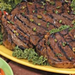 Photo of Grilled Rib Eye Steaks by Tim  Hanchon