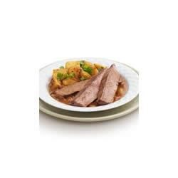 Photo of Steak with Dijon Shallot Sauce by COLLEGE INN® Broth