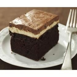 Photo of Chocolate-Peanut Butter Cake by Philadelphia Cream Cheese