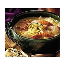 Photo of New Orleans Corn Bisque with Smoked Sausage by Hillshire Farm® Brand