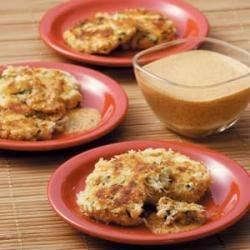 Photo of Crab Cakes with Red Pepper Sauce by Joylyn Trickel