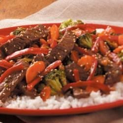Photo of Ginger Beef Stir-Fry by Linda Murray