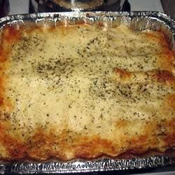 Seafood Alfredo Lasagna  Recipe