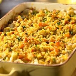 Creamed Onion Bake Recipe
