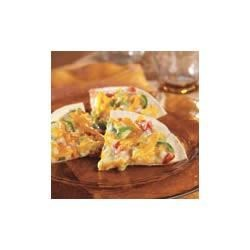 Vegetable Tortilla Triangles Recipe