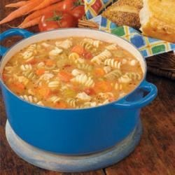 Photo of Curly Noodle Chicken Soup by Maxine  Pierson