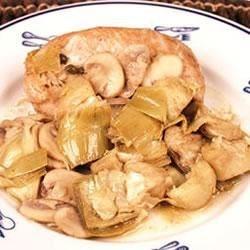 KJ's Mushroom Chicken Recipe