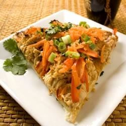 Quick Pizza with Thai Flavorings Recipe