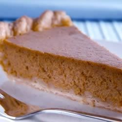 sour cream pumpkin custard pie photos