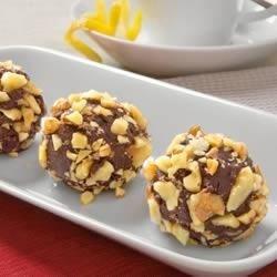 Walnut Cranberry Truffles Recipe