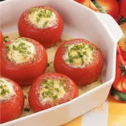 Photo of Corn Pudding Stuffed Tomatoes by Jean  Smalls