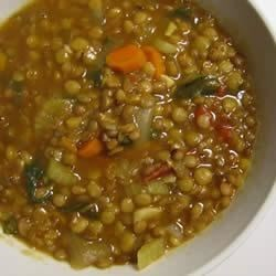 Three Lentil Soup