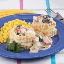 Photo of Creamed Chicken in Patty Shells by Mared  Metzgar Beling
