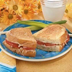 Photo of Grilled Cheese with Tomato by Tricia  Curley