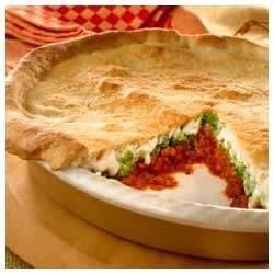Photo of Ragu® Upside-Down Deep Dish Pizza by Ragu®