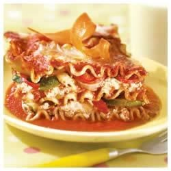 Veggie No Boiling Lasagna Recipe