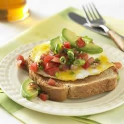 Southwestern Whole Grain Egg Sandwich Recipe