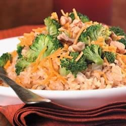 Brown Rice, Broccoli, Cheese and Walnut Surprise Recipe