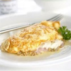 Photo of Ham Omelette with Maille® Old Style Mustard by Maille