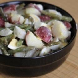 Potato, Egg and Green Bean Salad Recipe