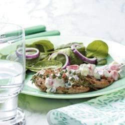 Photo of Greek Pork Cutlets by Taste of Home Test Kitchen