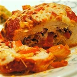 Artichoke and Tomato Stuffed Chicken Recipe