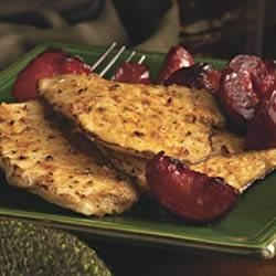 Pork Cutlet with Plums Recipe