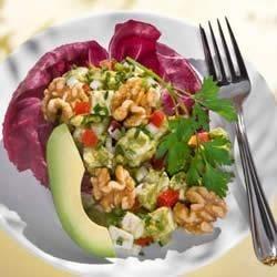 Guacamole Walnut Chicken Salad