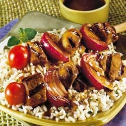 Photo of Teriyaki Beef Kabobs by Campbell's Kitchen
