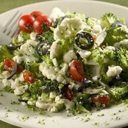 Greek Veggie Salad Recipe