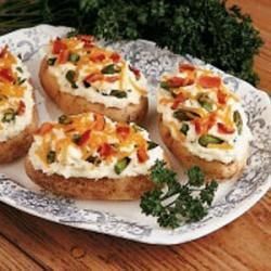Photo of Asparagus-Stuffed Potatoes by Helen  Druse