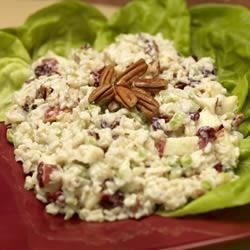 Apple and Brown Rice Salad Recipe