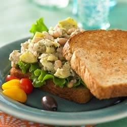 Mediterranean Tuna Salad Sandwich Recipe