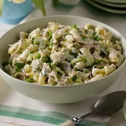 Pea and Mint Pasta Salad Recipe