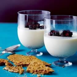 Photo of Panna Cotta with Berries and Anise Brittle by Walmart Fresh Berries
