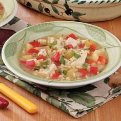 Photo of Brown Rice Turkey Soup by Bobby  Langley